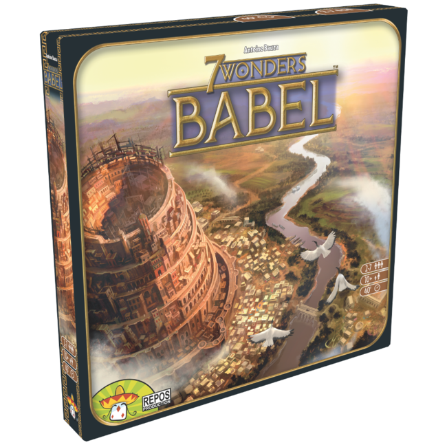 Repos Production 7 Wonders : Babel (1ère édition) [French]