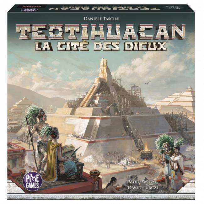 Pixie Games Teotihuacan - La cité des dieux [français]