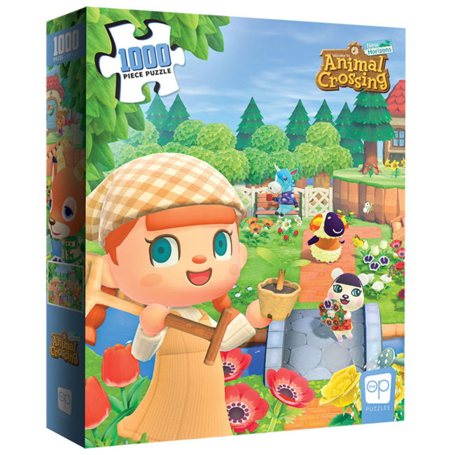 USAopoly Animal Crossing - New Horizons (1000 pièces)