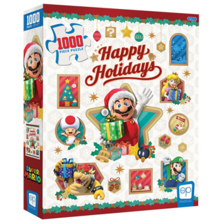 USAopoly Super Mario - Happy Holidays (1000 pieces)
