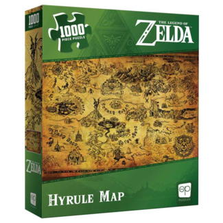USAopoly Zelda - Hyrule Map (1000 pieces)