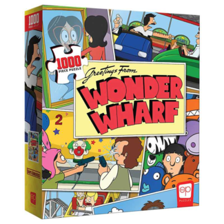 USAopoly Bob's Burgers - Greetings From Wonder Wharf (1000 pieces)