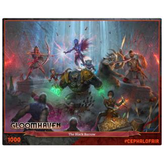 Cephalofair Games Gloomhaven - The Black Barrow (1000 pièces)