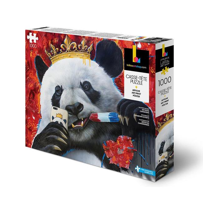 Lalita's Art Shop Panda (1000 pieces)