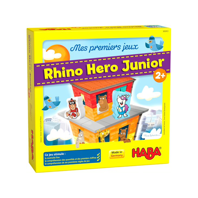 Haba Rhino Hero Junior [français]