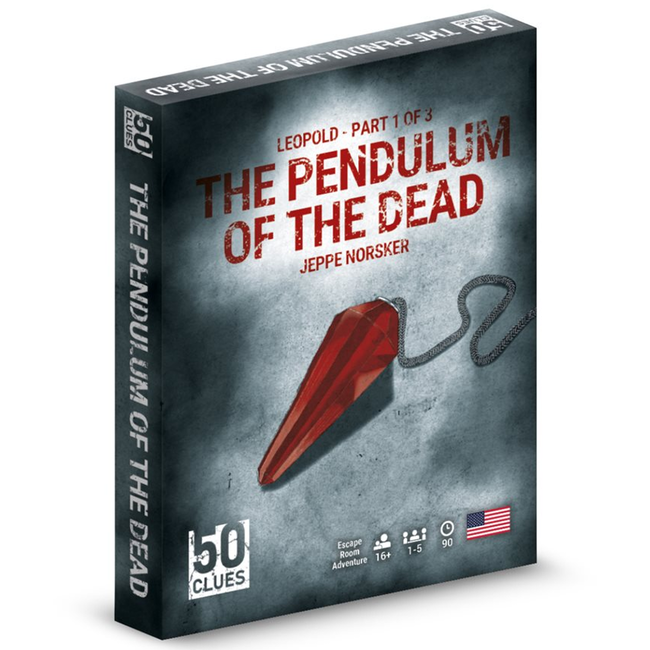 Norsker Games 50 Clues - Leopold Part 1 of 3 - The Pendulum of the Dead [anglais]