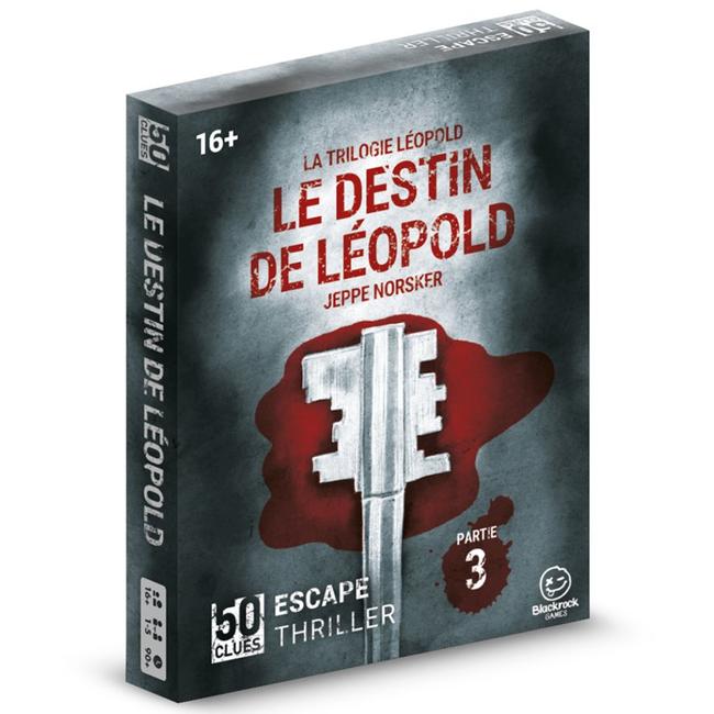 Norsker Games 50 Clues - La trilogie Léopold (3) - Le destin de Léopold [French]