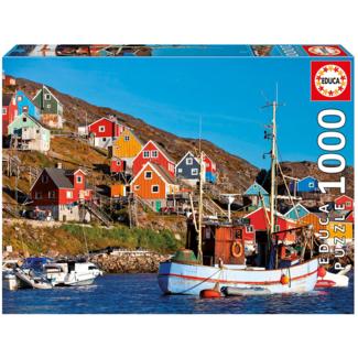 Educa Maisons nordiques (1000 pièces)