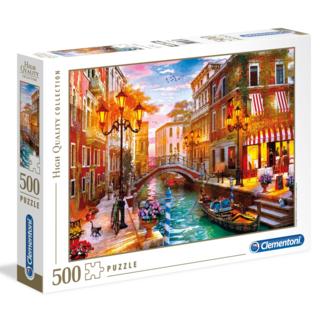 Clementoni Sunset over Venice (500 pièces)
