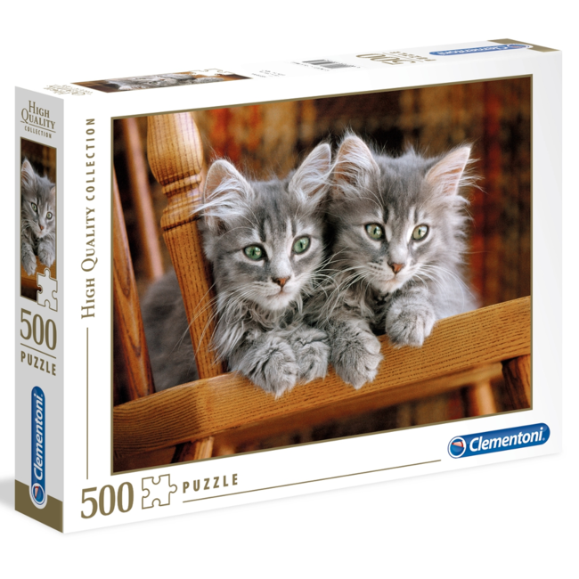 Clementoni Kittens (500 pieces)
