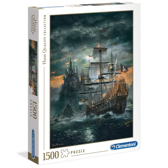 Clementoni The Pirates Ship (1500 pieces)