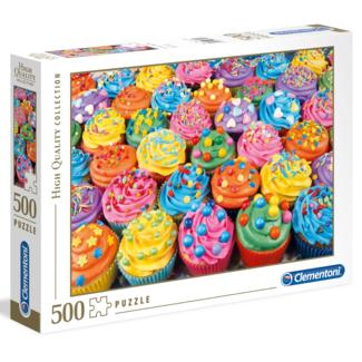 Clementoni Colorful Cupcakes (500 pieces)