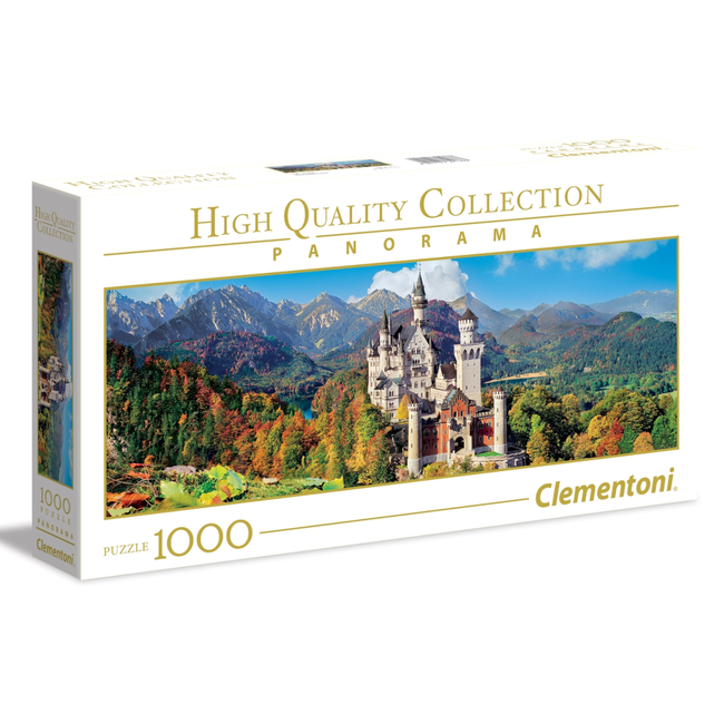 Clementoni Neuschwanstein - panoramique (1000 pièces)