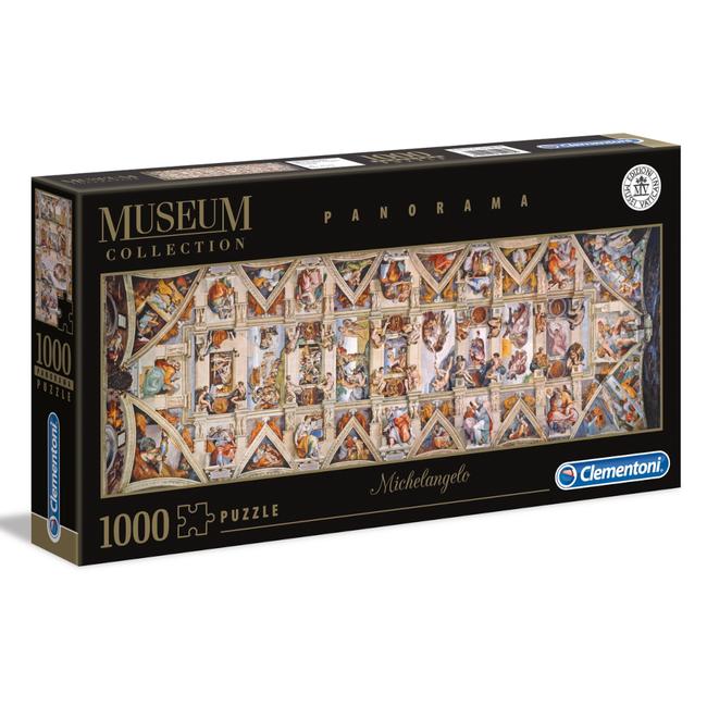 Clementoni Michelangelo - The Sistine Chapel Ceiling - panoramique (1000 pièces)