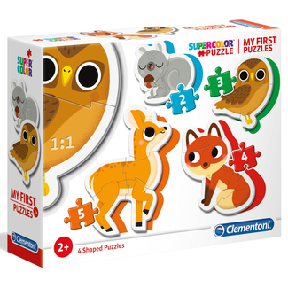 Clementoni My First Puzzles - Forest Animals (4 in 1)