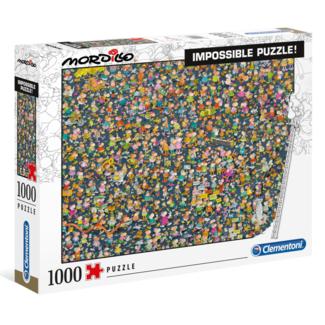 Clementoni Mordillo - Impossible Puzzle! (1000 pieces)