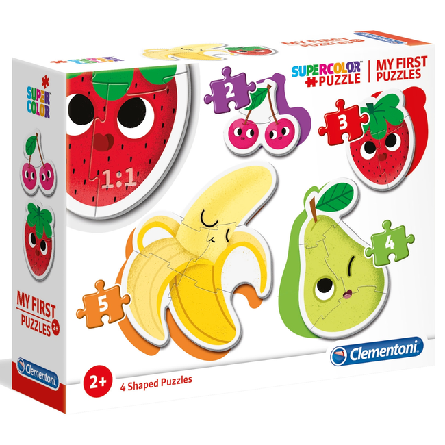 Clementoni My First Puzzles - Fruits (4 in 1)