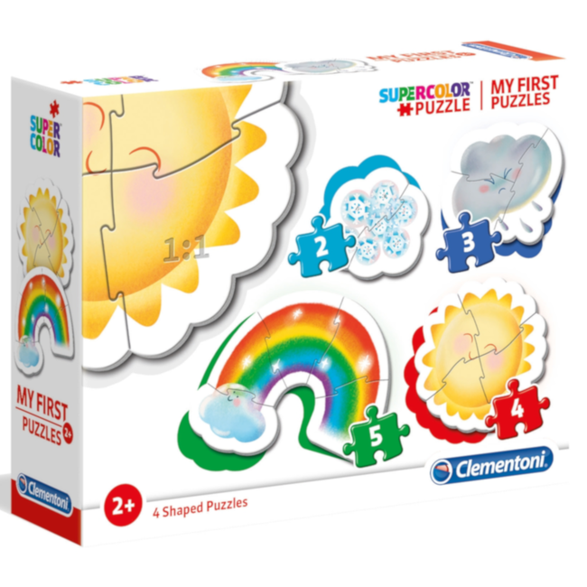 Clementoni My First Puzzles - Atmospheric Events (4 in 1)
