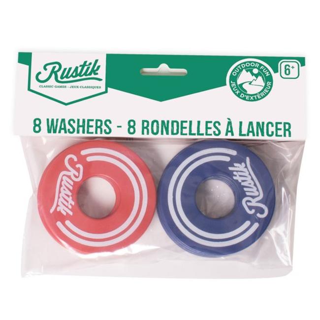 Rustik Washer Toss : Recharge de 8 rondelles