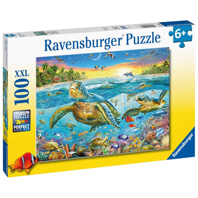 Ravensburger Swim with Sea Turtles (100 pieces)