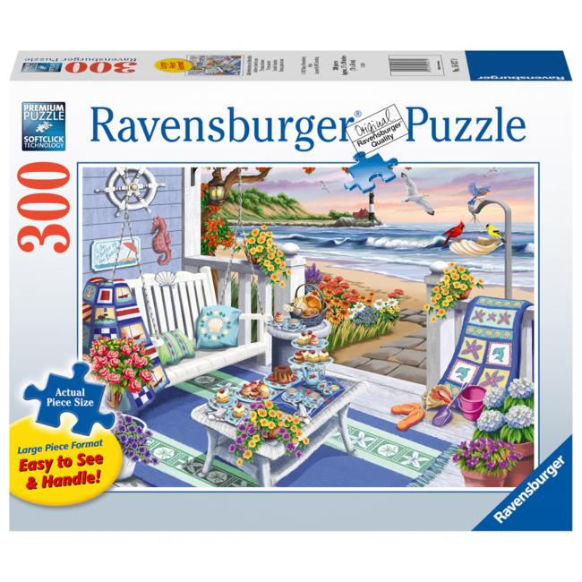 Ravensburger Goûter en bord de mer - Large (300 pièces)