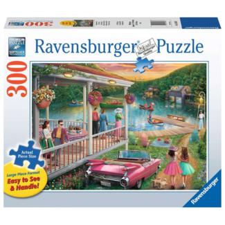 Ravensburger Un été au lac - Large (300 pièces)