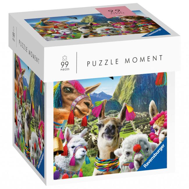 Ravensburger Puzzle Moment - Lamas (99 pieces)