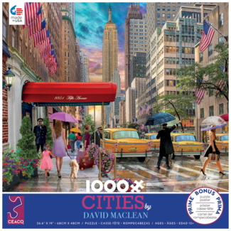 CEACO Cities by David Maclean - New York (1000 pieces)