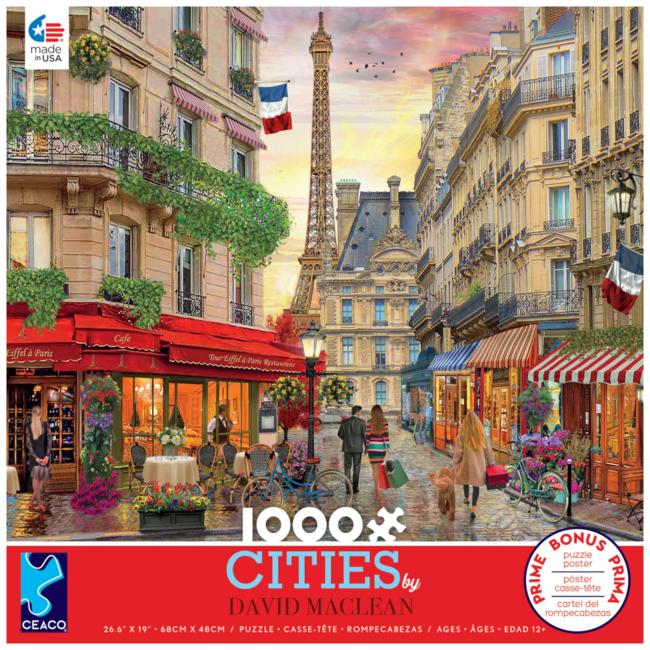 CEACO Cities by David Maclean - Paris (1000 pieces)