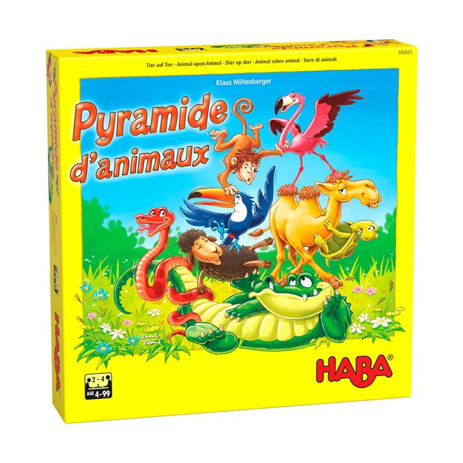 Haba Pyramide d'animaux [français]