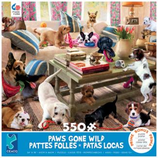 CEACO Pattes folles - salon (550 pièces)