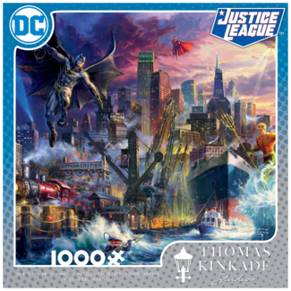 CEACO DC - Justice League - Shodown at Gotham Pier (1000 pieces)