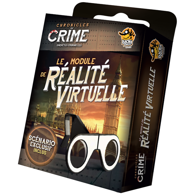 Lucky Duck Games Chronicles of Crime : The VR Module (lunettes) [multilingue]