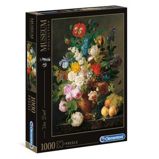 Clementoni Van Dael - Bowl of Flowers (1000 pièces)