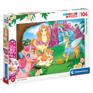 Clementoni Fantasy World (104 pieces)