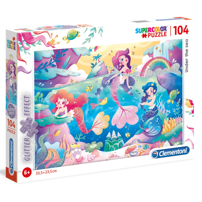 Clementoni Under the Sea (104 pieces)