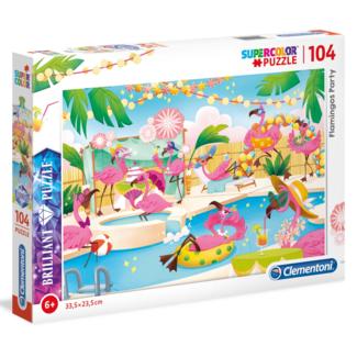 Clementoni Flamingos Party (104 pièces)