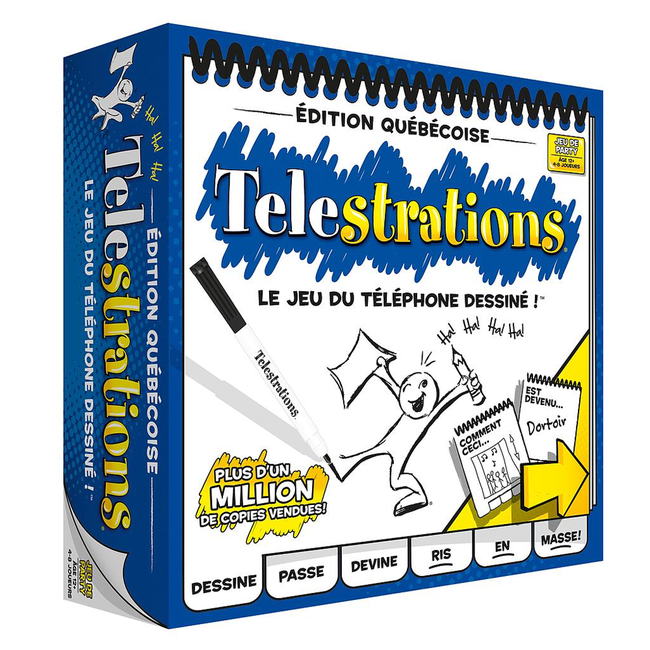 Randolph Telestrations - Édition québécoise [French]