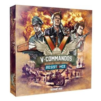 Triton Noir V-Commandos : Resistance [multilingue]
