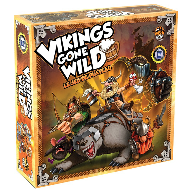Lucky Duck Games Vikings Gone Wild [French]