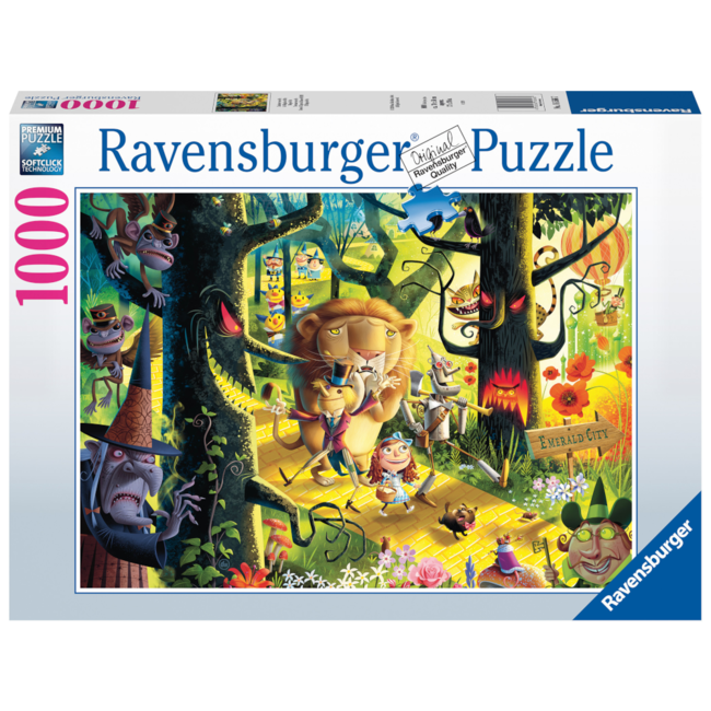 Ravensburger Lions, Tigers & Bears, Oh My! (1000 pieces)