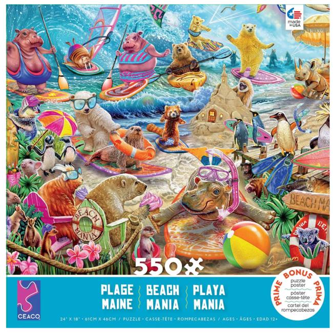 CEACO Beach Mania (550 pieces)