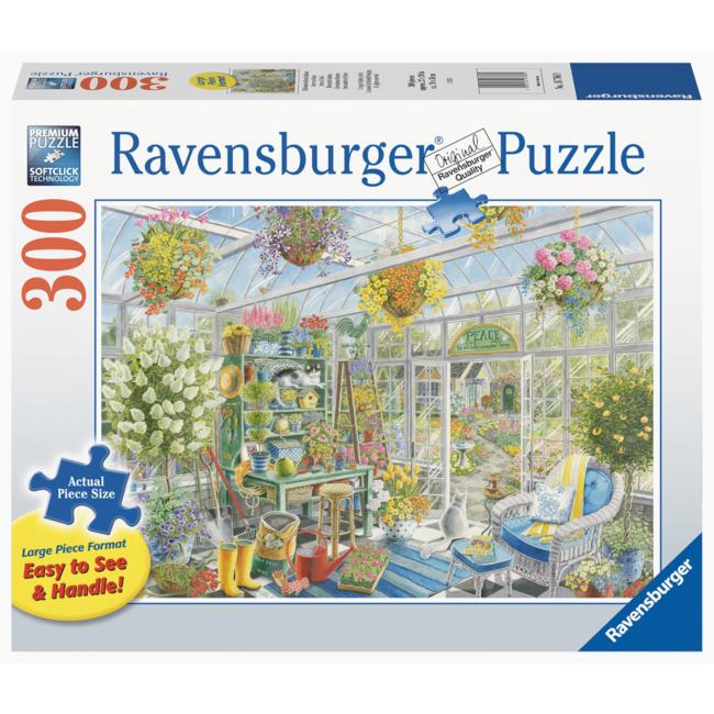 Ravensburger Serre en fleurs - Large (300 pièces)