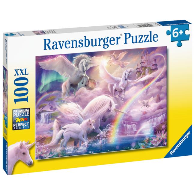 Ravensburger Pegasus Unicorns (100 pieces)