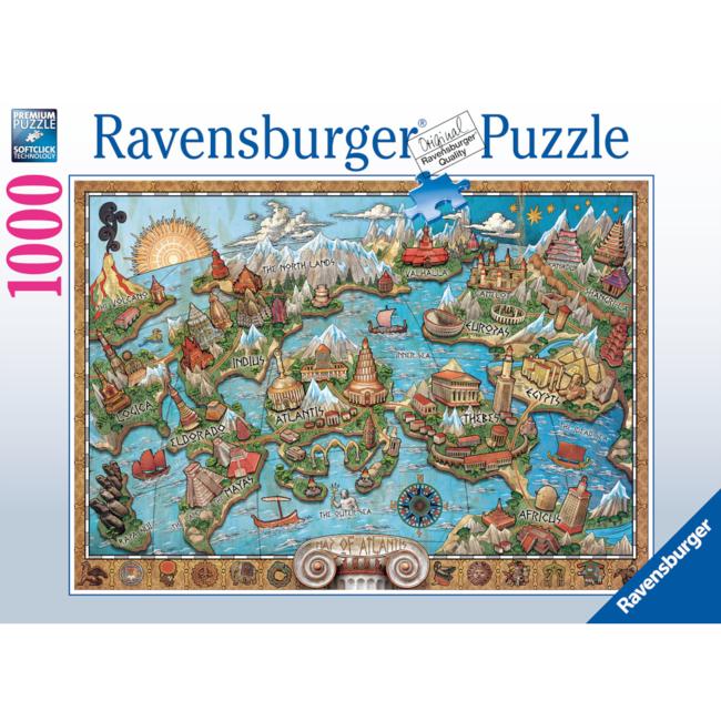 Ravensburger Mysterious Atlantis (1000 pieces)