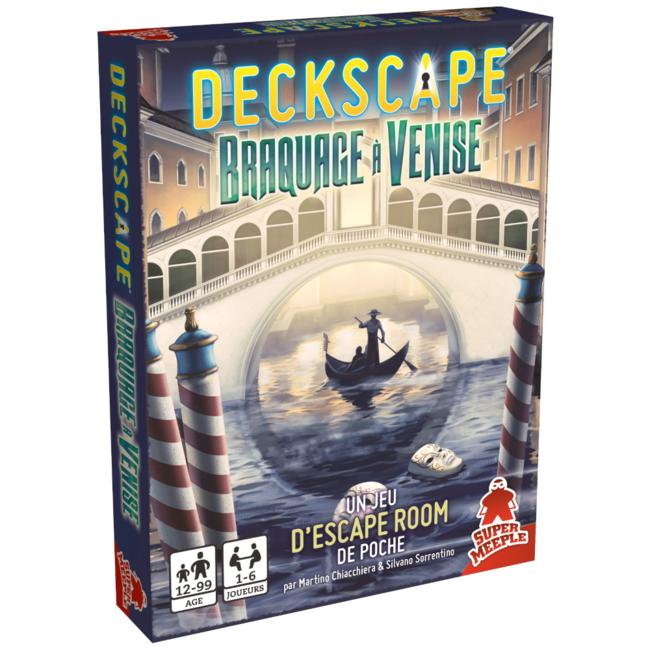 Super Meeple Deckscape (3) - Braquage à Venise [French]