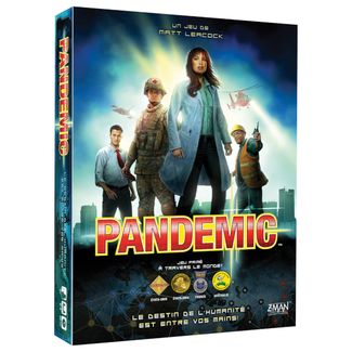 Z-Man Pandemic [French] *** Damaged Box 001 ***