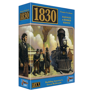Lookout Games 1830 - Railways & Robber Barons [English]