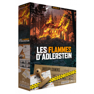 OriGames Flammes d'Adlerstein (les) [French]