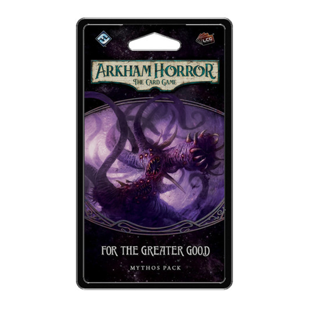 Fantasy Flight Games Arkham Horror - The Card Game (LCG) : For the Greater Good [anglais]
